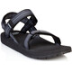 SOURCE Classic Sandals Men Chess Black